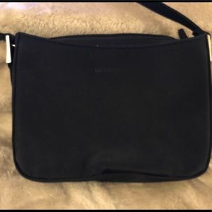 Liz Claiborne Shoulder Bag Black Cloth